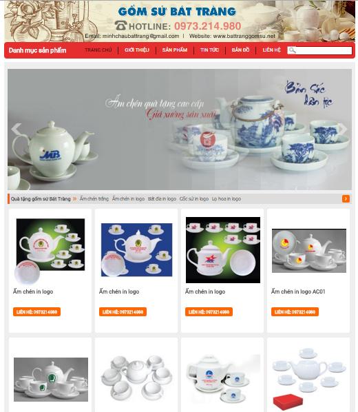thiết kế web thủ công mỹ nghệ