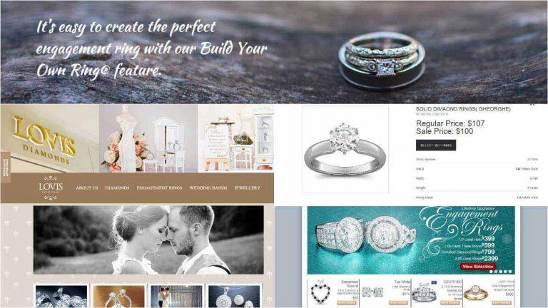 Thiết kế website bán đồ trang sức 2