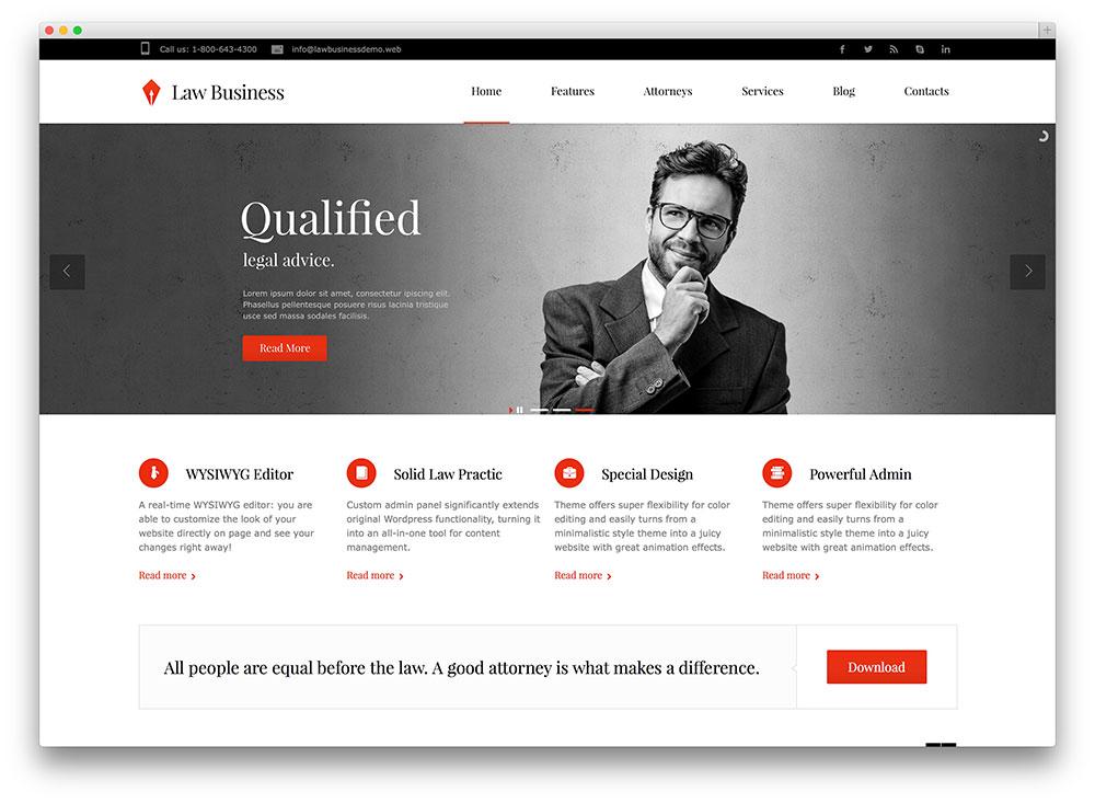 Website công ty Luật – Tư vấn