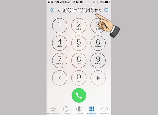 Hướng dẫn đổi cột sóng iPhone thành dạng số 1