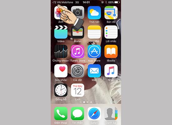 Hướng dẫn đổi cột sóng iPhone thành dạng số 4