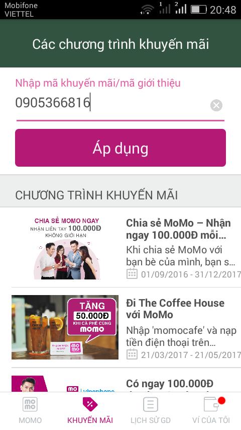 Hướng dẫn kiếm 100k từ MOMO nhanh nhất 4