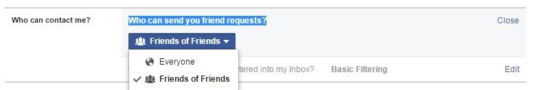 Cách chặn kết bạn trên Facebook đơn giản