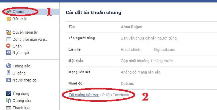 Cách khôi phục tin nhắn Facebook đã bị xóa 2