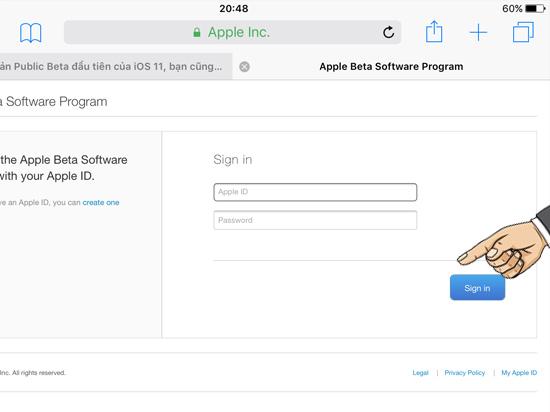 Cách tải về phiên bản iOS 11 mới nhất 2