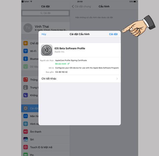 Cách tải về phiên bản iOS 11 mới nhất 4
