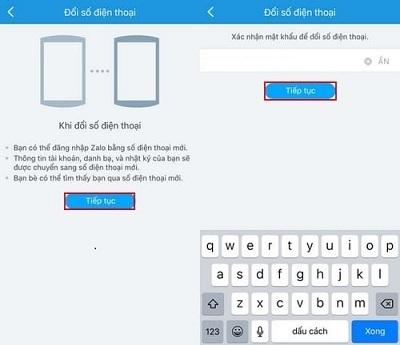 Hướng dẫn đổi số điện thoại đăng ký Zalo-4
