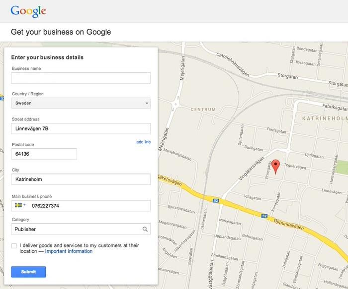 Hướng dẫn đưa địa chỉ lên Google Maps 3