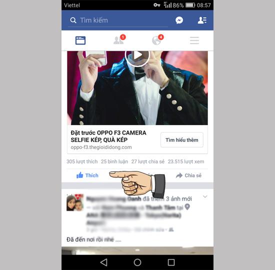Khắc phục lỗi Facebook không hiển thị Newsfeed 4