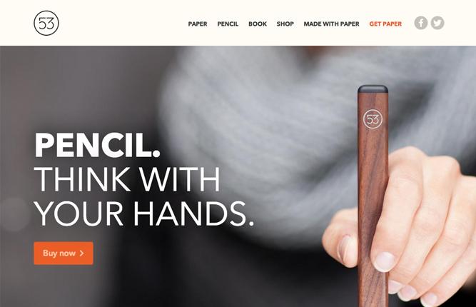Những mẫu website thương mại sáng tạo nhất 1