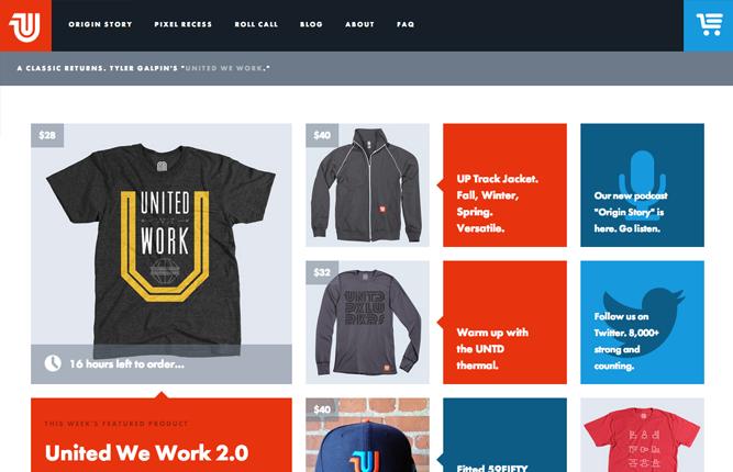Những mẫu website thương mại sáng tạo nhất 2