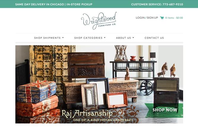 Những mẫu website thương mại sáng tạo nhất 3