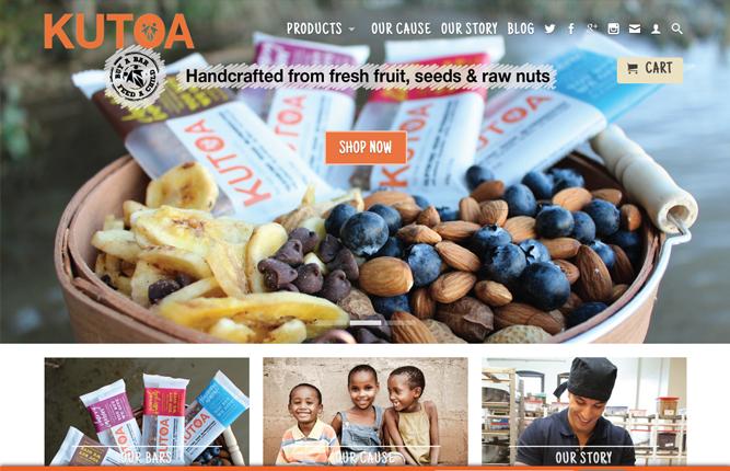 Những mẫu website thương mại sáng tạo nhất 4