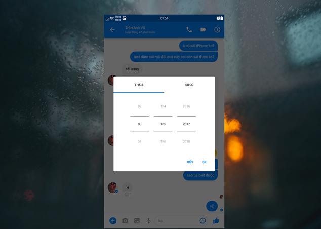 Tạo thông báo nhắc nhở hẹn hò bằng Facebook Messenger 5