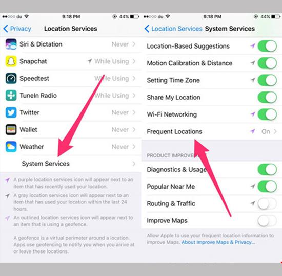 Tắt tính năng theo dõi bí mật trên iPhone 3