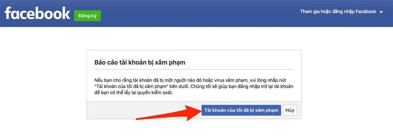 Cách lấy lại Facebook bị hack trong vòng một nốt nhạc