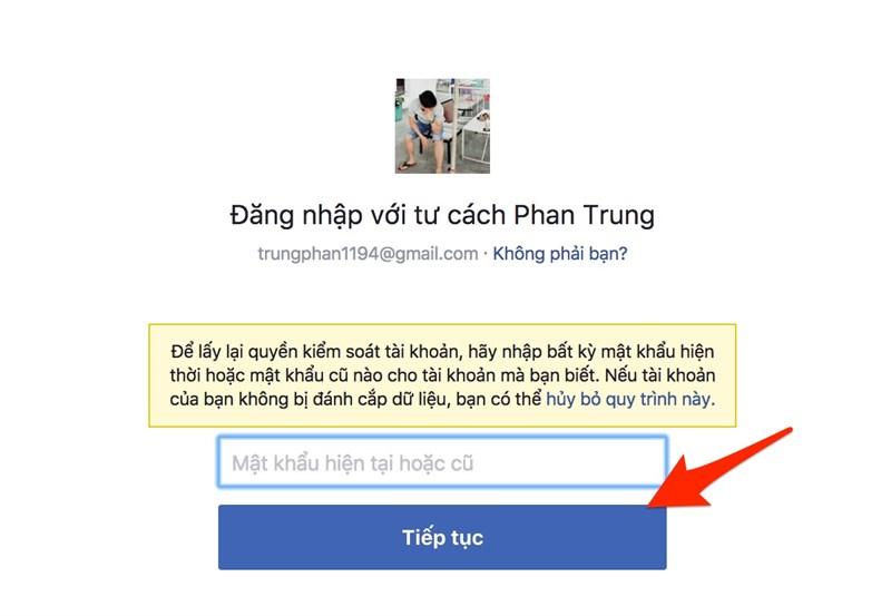 Cách lấy lại Facebook bị hack trong vòng một nốt nhạc 3