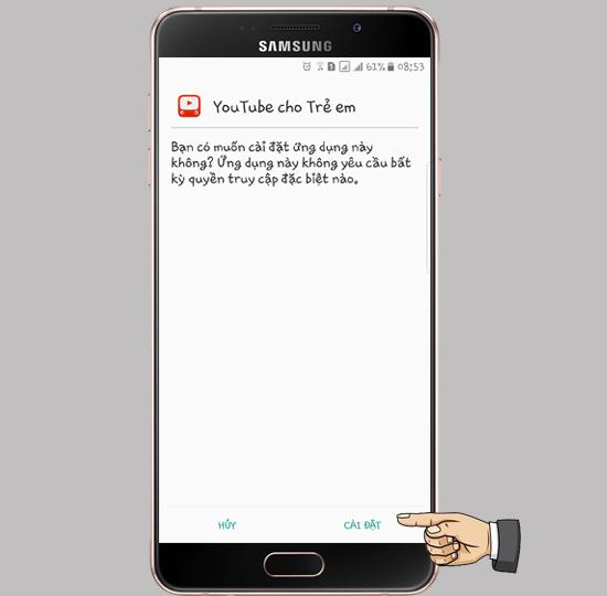 Hướng dẫn cài đặt Youtube Kids dành cho trẻ em-2