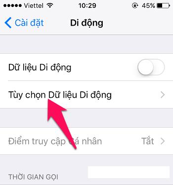 Sửa lỗi sóng yếu trên iPhone-3