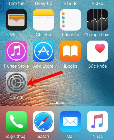 Thủ thuật hiện phần trăm pin trên iPhone 1
