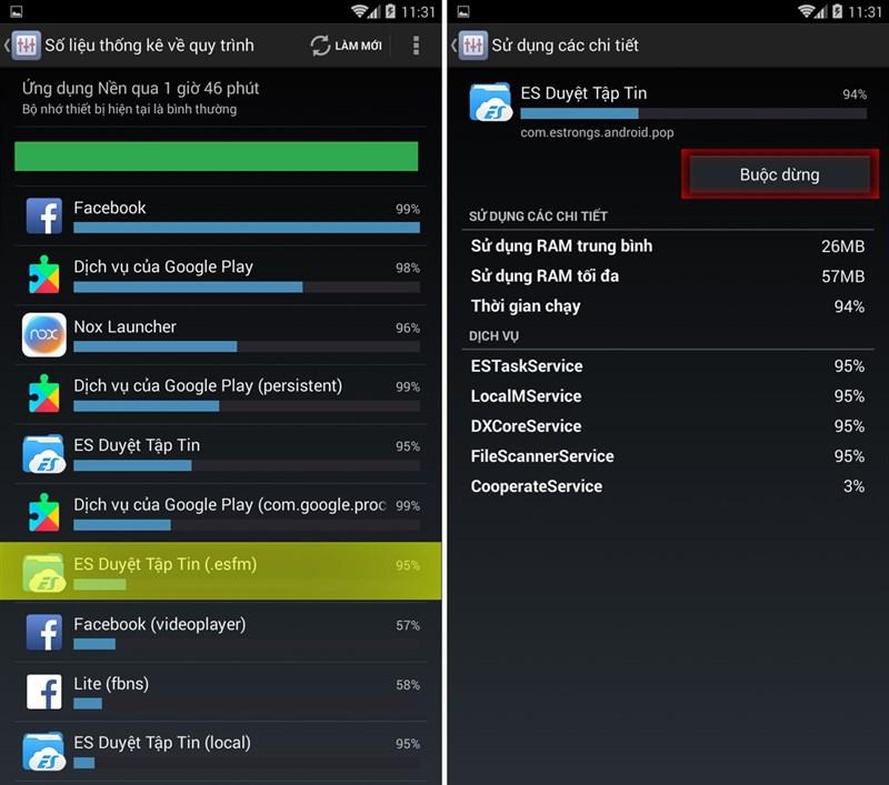 Cách tắt các ứng dụng chạy ngầm cứng trên smartphone 3