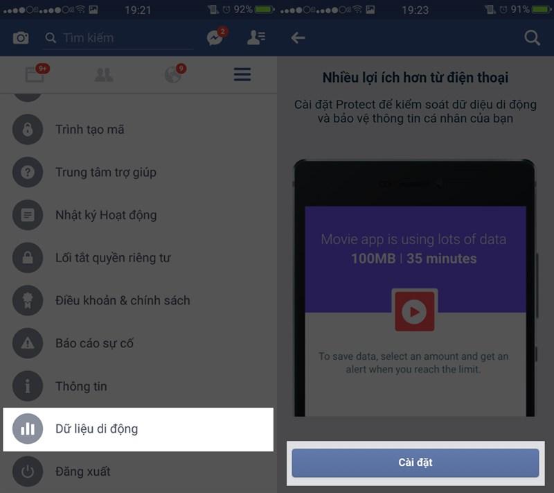Mẹo tiết kiệm 3G khi sử dụng Facebook-2