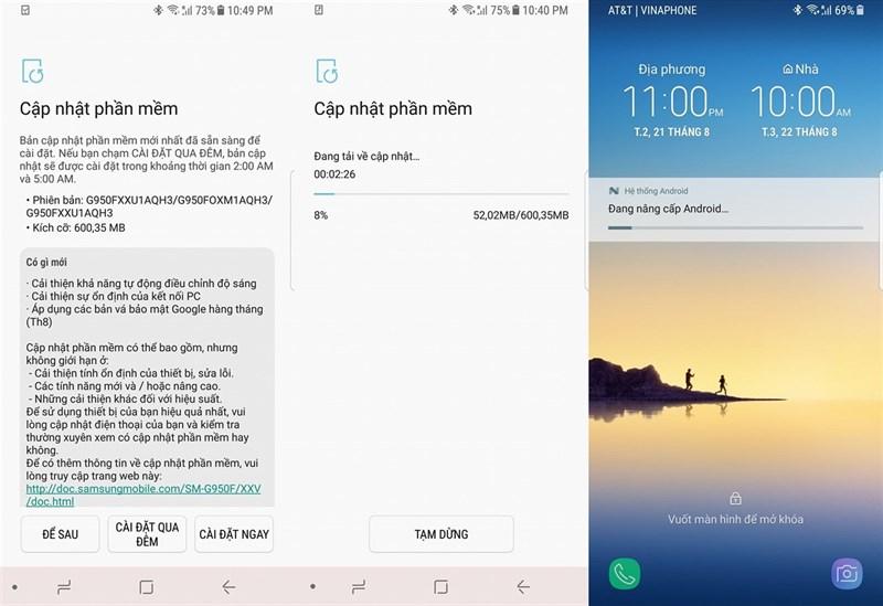 Samsung tung bản cập nhật lớn cho Galaxy S8 2