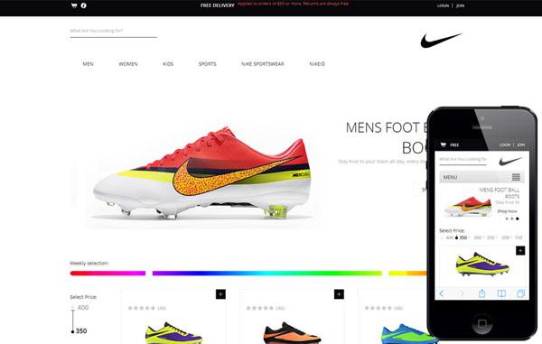 Xây dựng bố cục cho thiết kế trang web bán hàng
