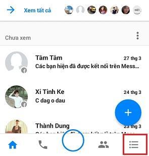 Cách tắt đèn khi online trên Messenger Facebook