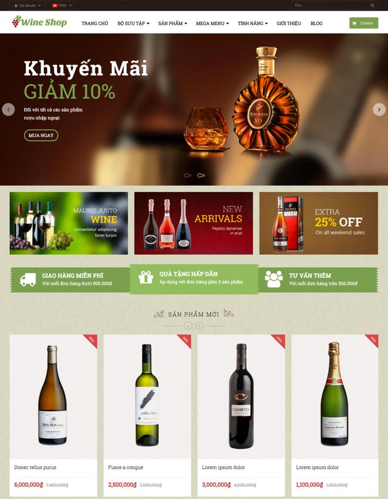 Bí quyết kinh doanh thành công website rượu vang