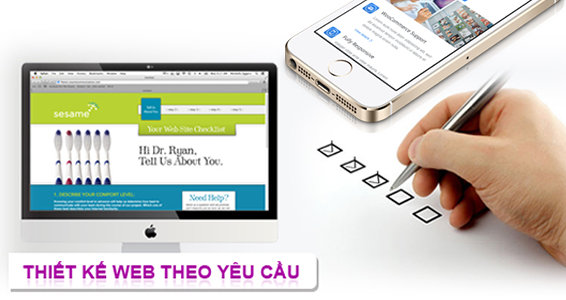 Nhu cầu thiết kế website đối với cá nhân và doanh nghiệp