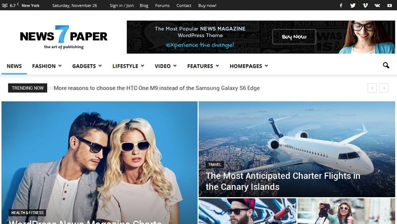 Thiết kế web tin tức 1