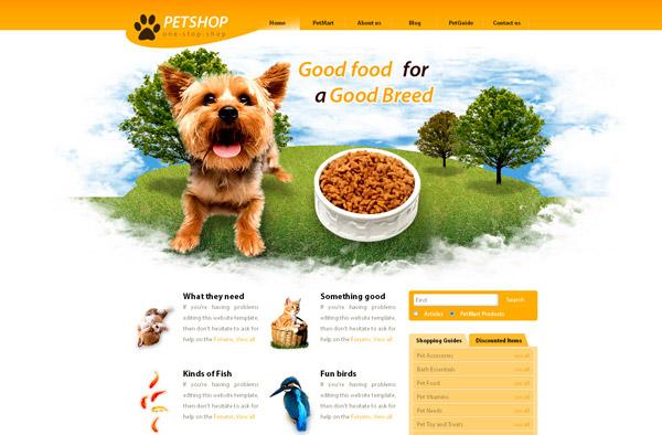 Website thú cưng