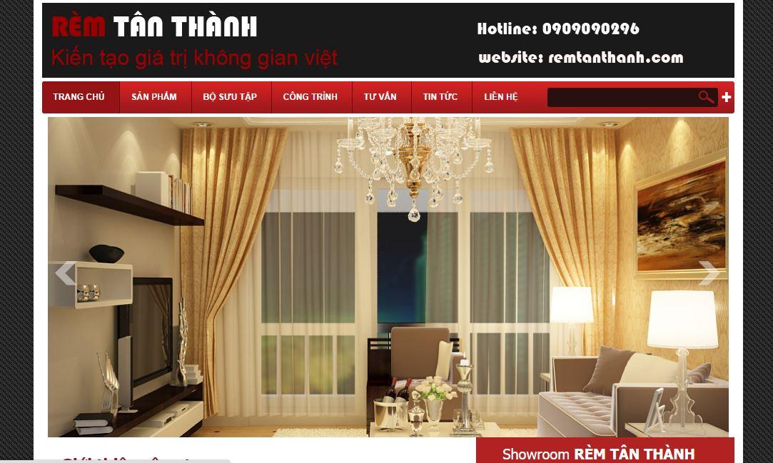 Thiết kế website bán đồ nội thất 1