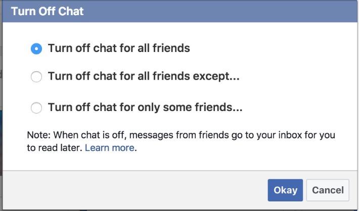 Ẩn nick Facebook khi Online, cách ẩn tài khoản Facebook 2