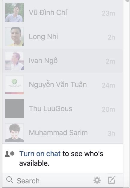 Ẩn nick Facebook khi Online, cách ẩn tài khoản Facebook3