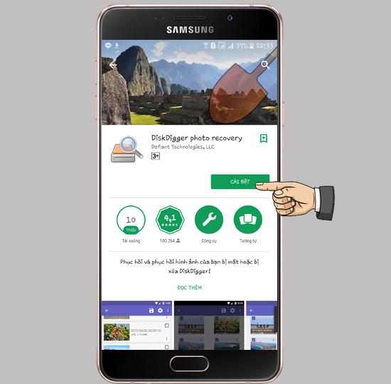 Cách khôi phục ảnh đã xóa trên Android-2