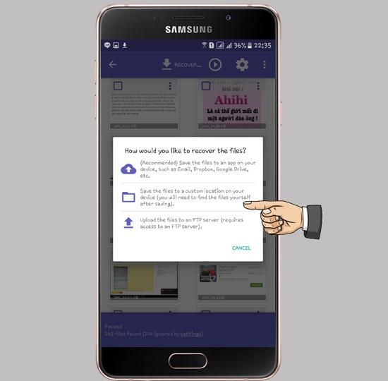 Cách khôi phục ảnh đã xóa trên Android-5