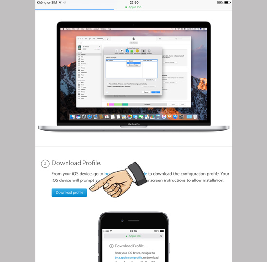 Cách tải về phiên bản iOS 11 mới nhất 3