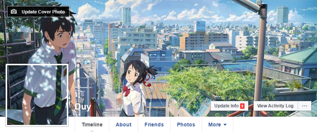 Cách tạo ảnh đại diện và ảnh bìa trùng khớp trên Facebook 3
