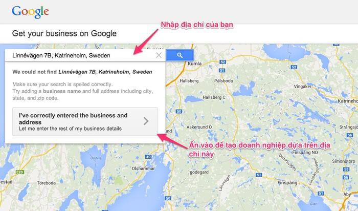 Hướng dẫn đưa địa chỉ lên Google Maps 2