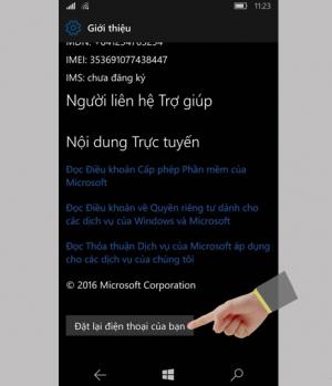 Hướng dẫn khôi phục cài đặt gốc trên Windows Phone-5