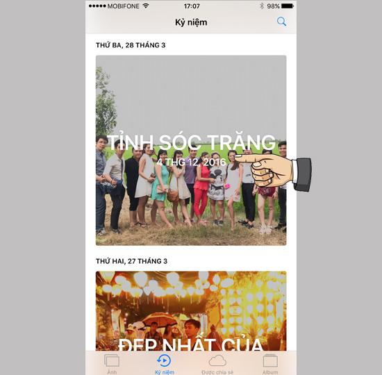 Hướng dẫn tự tạo Video hình ảnh trên iOS 10