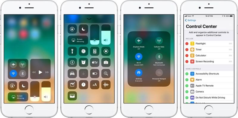 Các tính năng chỉ có trên iOS 11