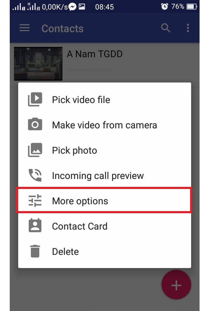 Cách cài video làm nhạc chuông cuộc gọi đến trên Samsung cực độc 3