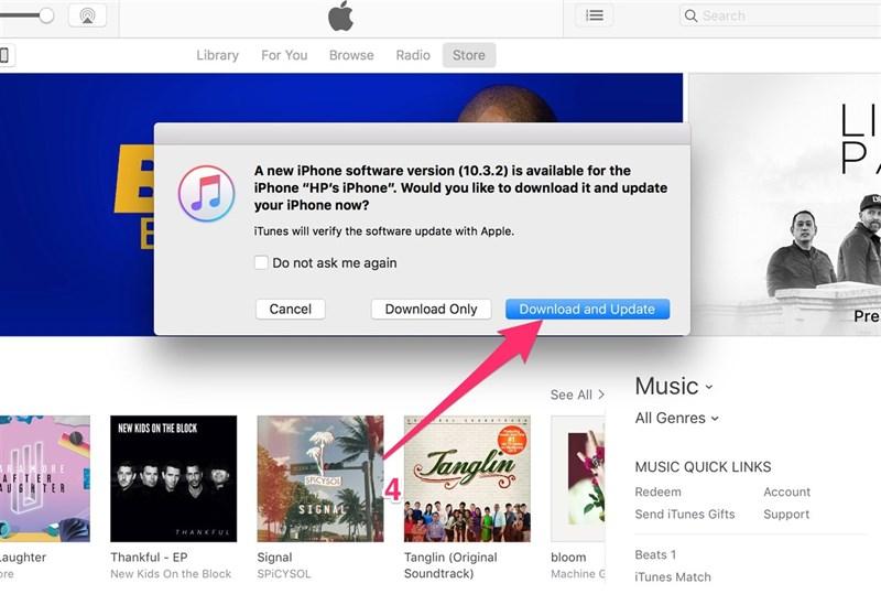 Cách cập nhật iOS 10.3.3 bản chính thức chạy mượt pin trâu 1