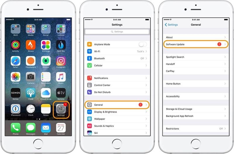 Cách cập nhật iOS 10.3.3 bản chính thức chạy mượt pin trâu 2