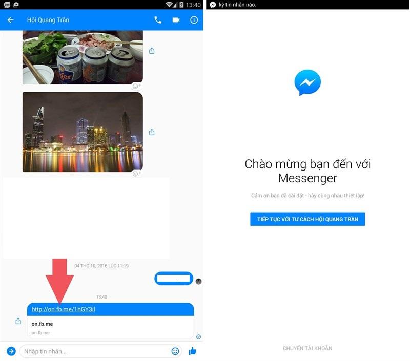 Cách đăng xuất Messenger mà không cần xóa ứng dụng