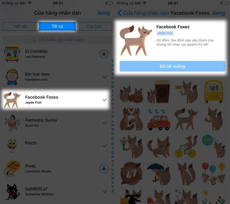 Cách thả bong bóng trên Messenger tuyệt đẹp trên facebook