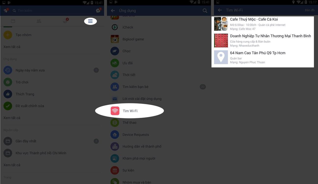 Dùng Facebook phải biết cách truy cập wifi miễn phí